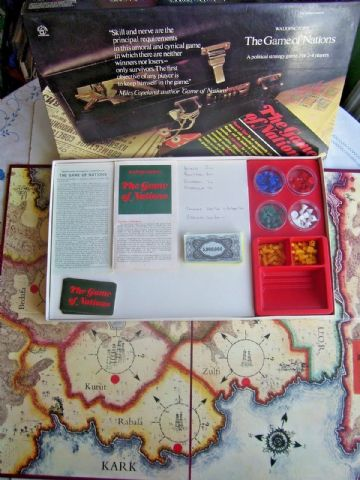 The Game of Nations  by Waddingtons 1973 Edition